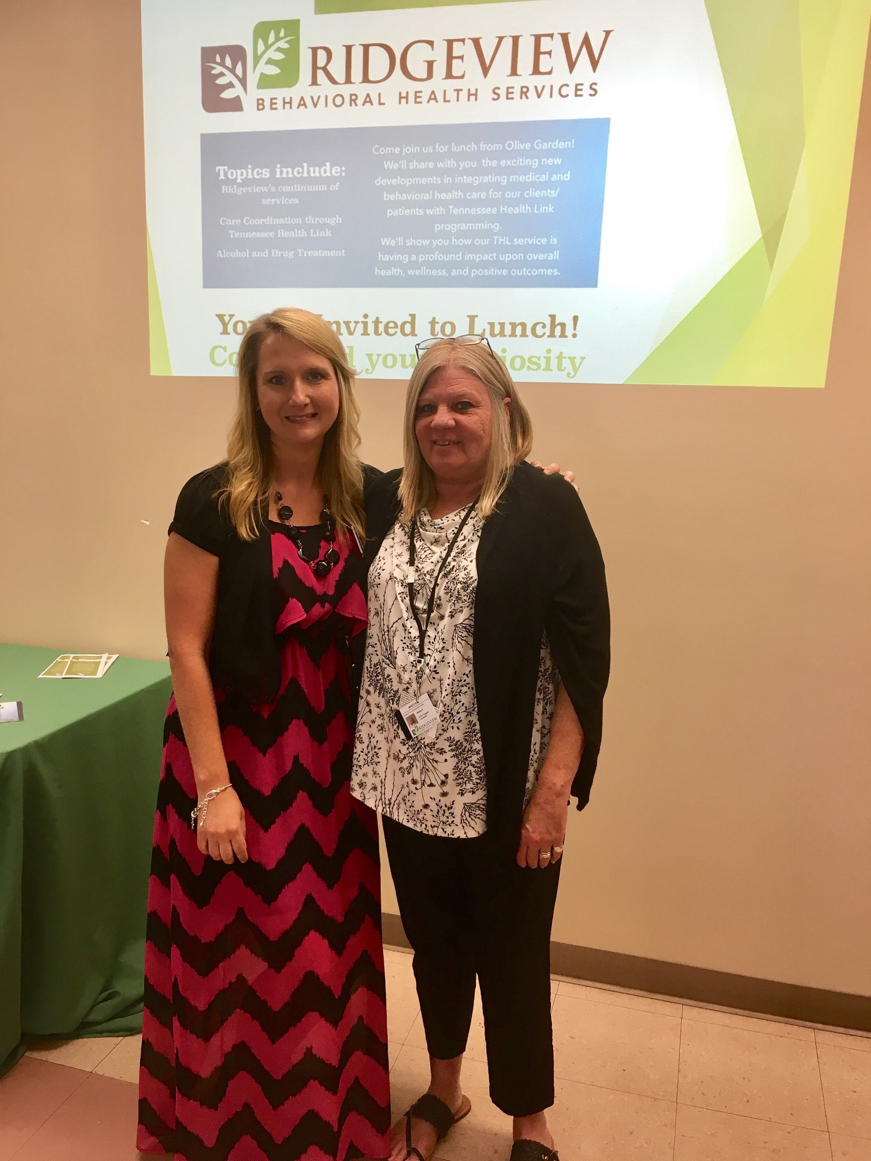 tn health link and stop host stakeholder luncheon - Olive Garden Host Pay